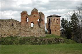 Vastseliina castle ruins