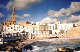 A city beach of Monopoli known as Cala Porta Vecchia.
