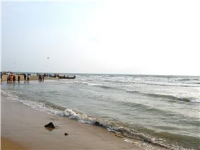 Seashore at Vailankanni
