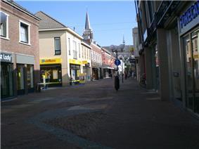 Shopping street in Venray
