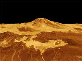 Reprojection of Maat Mons