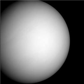 Venus imaged by MESSENGER on the second flyby of the planet