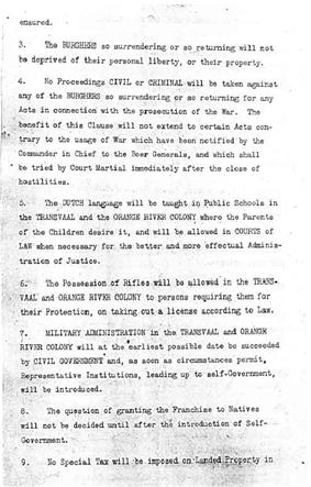Page 2 of the Treaty of Vereeniging-->