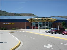 The main entrance of the Vernon Multiplex
