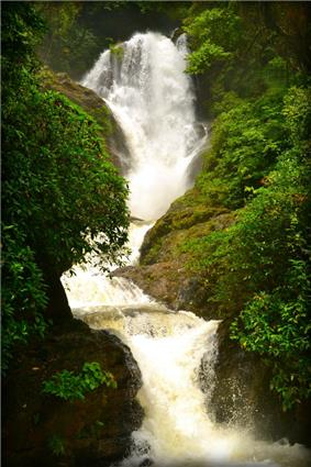 Photograph of Vibuthi Water Falls.