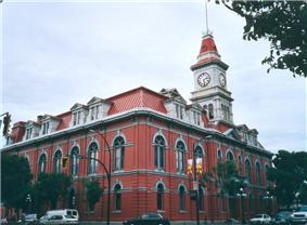 Exterior view of Victoria City Hall