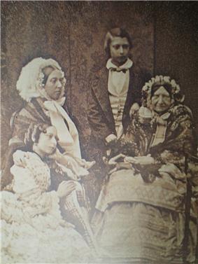 Daguerreotype of Princess Mary