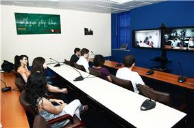 Videoconference classroom