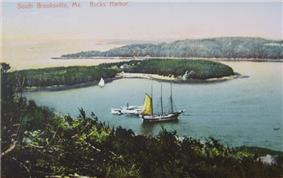 View of Buck's Harbor c. 1910