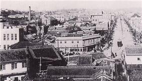 View of Pyongyang during the 1920s.