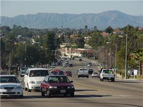 View of South Santa Fe