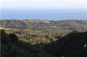 View over Montecito