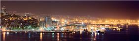 Vigo seafront