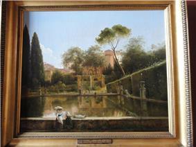 Villa d'Este by Pierre-Athanase Chauvin - Thorvaldsens Museum - DSC08791.JPG