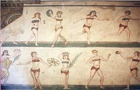4th Century Roman mosaic