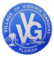 Official seal of Virginia Gardens, Florida
