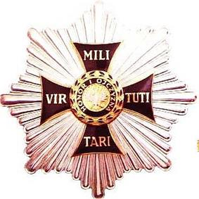 Grand Cross Star of Virtuti Militari Order