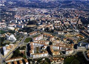 Panoramic view of Viseu.