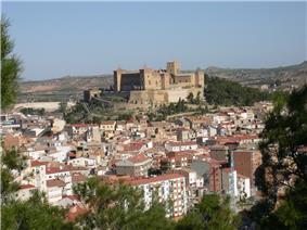 Skyline of Alcañiz