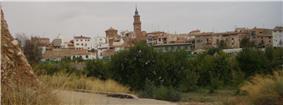 Skyline of Calanda, Spain