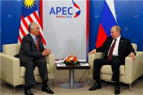 With Malaysian Prime Minister Najib Razak
