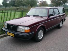 Volvo 240 station wagon.