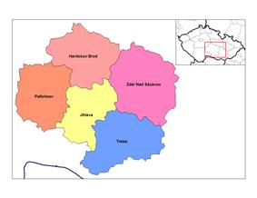 Districts of Vysocina