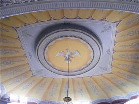 Würzburg - Residenz Nord, Toscanasaal, Decke.JPG