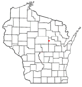 Location of Eland, Wisconsin