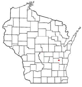 Location within the state of Wisconsin.
