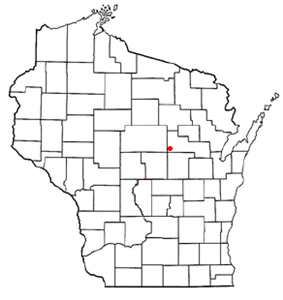 Location of Germania, Wisconsin