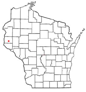 Location of Hammond, Wisconsin