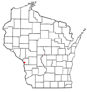 Location in the state of Wisconsin