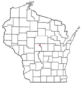 Location of Milladore, Wisconsin
