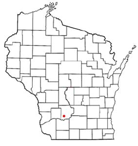 Location of Plain, Wisconsin