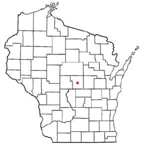 Location of Plover, Wisconsin