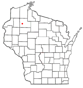 Location of Reserve, Wisconsin