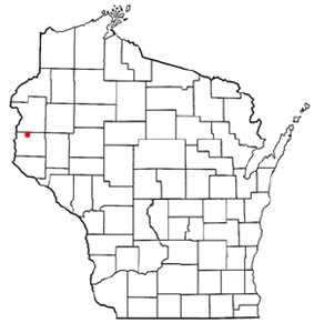 Location of Star Prairie, Wisconsin