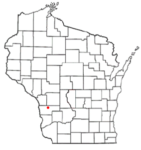 Location of Westby, Wisconsin