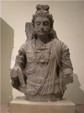 WLA vanda Pakistan Kusana Dynasty Bodhisattva Maitreya.jpg