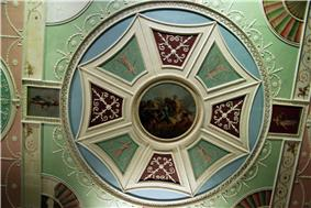 WLA vanda Robert Adam Ceiling roundel with octagon and Apollo and Horae.jpg