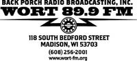 WORT 89.9FM Community Radio