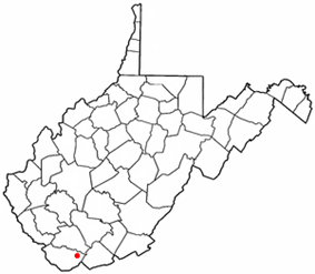 Location of Northfork, West Virginia