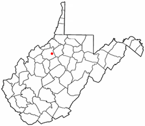 Location of Pullman, West Virginia