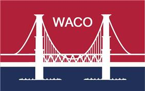 Flag of Waco, Texas