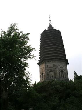 White Pagoda (Baita) in Liaoyang