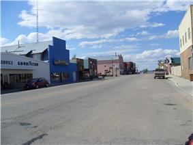 Walden, Main Street