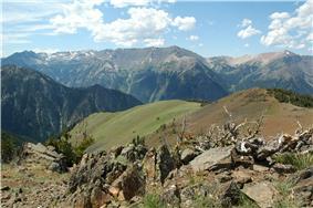 The Wallowa Mountains.