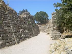 Part of the walls of Troy