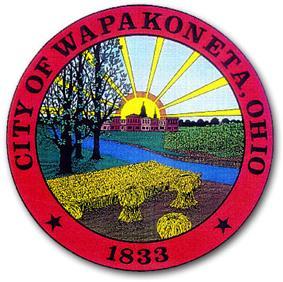 Official seal of City of Wapakoneta, Ohio
